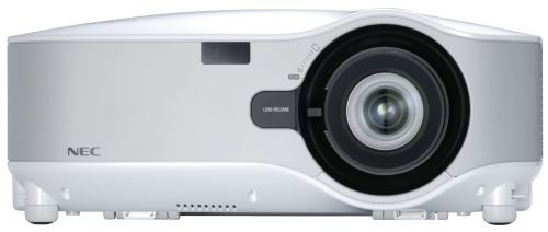 Da NEC due  videoproiettori con ottiche intercambiabili