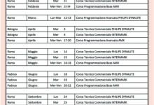 INTERMARK SISTEMI – Calendario Corsi 2012