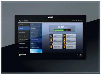 Multimedia touch la domotica firmata vimar home for Vimar domotica