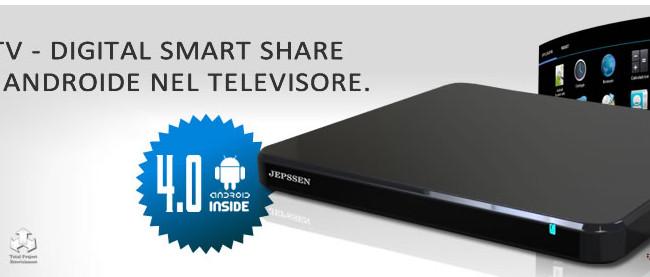 Jepssen, arriva la Droid TV