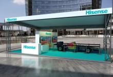 """Hisense celebra il GP di Monza con """"Vado al Massimo"""", dal 4 al 6 settembre"""