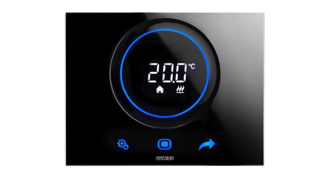 Controlla La Temperatura In Un Tocco Ora C è Gewiss Thermo Ice Hc