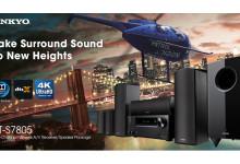 Più emozioni con un vero sistema HT: Onkyo HT-S7805, il surround multidimensionale è qui