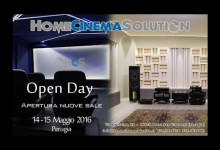 Perugia, sabato 14 Home Cinema Solution riapre al pubblico
