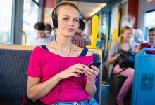 Musica al telefono con le nuove JVC