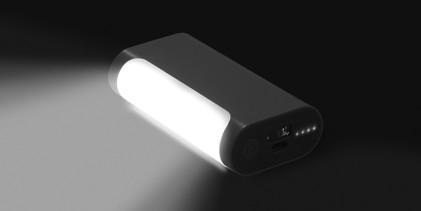 LED lamp + Power bank BTicino, energia all'occorrenza
