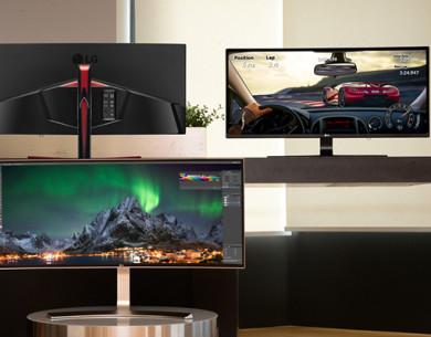 Ultrawide e curvi: LG sfodera i suoi monitor migliori