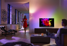 Philips 901F, l'unico OLED con Ambilight