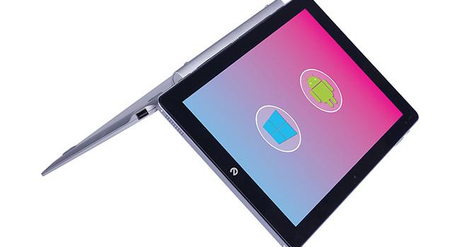 Microtech e-tab Pro, l'ultrasottile con dual OS