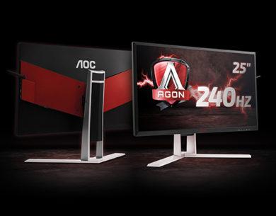 AOC AG251FZ, giocare col massimo del divertimento
