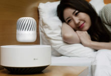 LG PJ9, lo speaker stupisce tutti levitando nell'aria