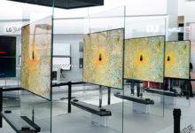 LG Signature OLED TV: premio all'innovazione per la Serie W