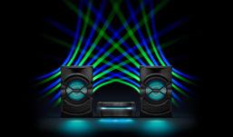 Sistemi hi-fi Sony High Power Audio: che la festa abbia inizio