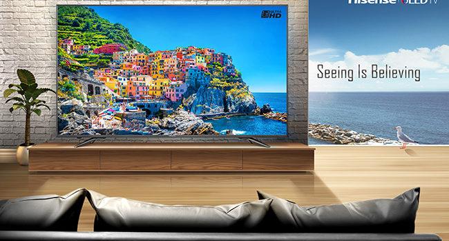 Disponibile in Italia la nuova serie N6800 ULED di Hisense
