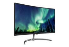 """Philips monitor 32"""": colori incredibili nell'elegante design curvo"""