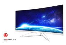 Due monitor Philips si aggiudicano il Red Dot Award per il design