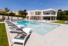 In Costa Azzurra una villa dal cuore italiano con i sistemi KE