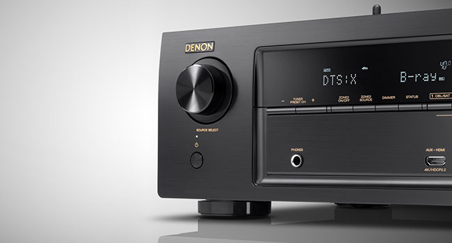 Denon AVR-X3400H, 7.2 canali di puro intrattenimento audio e video