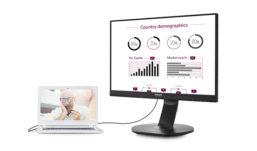 Ergonomia e massima regolabilità per il monitor Philips con docking USB