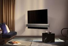 BeoVision Eclipse di Bang & Olufsen inaugura la partnership con l'OLED LG