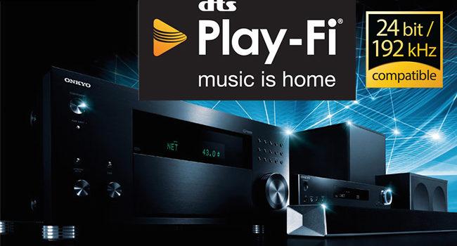 Con il DTS Play-Fi Onkyo rende il multiroom più facile da ogni device