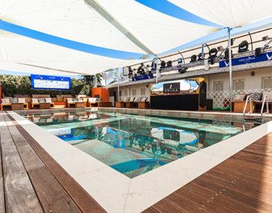 Kheope di KE crea l'ombra perfetta al Twiga Beach Club