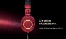 Red&Gold è la raffinata Limited Edition delle Audio-Technica ATH-M50x