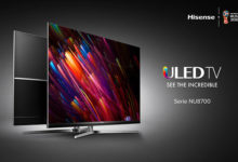 Disponibili in Italia i TV Hisense ULED NU8700 Ultra Slim Borderless