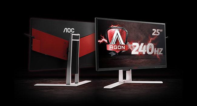Annunciato l'arrivo del monitor AOC Agon3 per il gaming