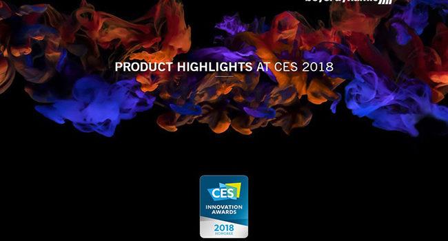 Beyerdynamic porta al CES le migliori tecnologie e prodotti per l'audio in cuffia