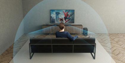 Sony soundbar HT-ZF9, il Dolby Atmos riempie il salotto su tre dimensioni