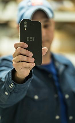 smartphone CAT S61