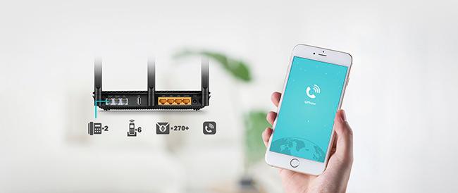 modem/router Wi-Fi TP-Link Archer VR600V