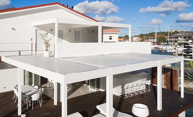 strutture e pergole KE ad Antigua