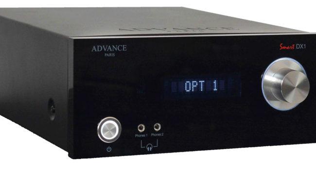 Advance Acoustic Smart DX1, conversioni tra home e pro