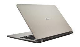 Asus notebook X507 con design dual-storage