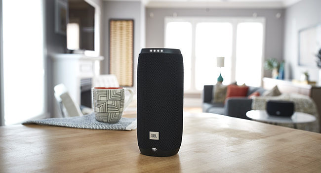 JBL Link, con l'assistente Google in italiano la musica va dappertutto