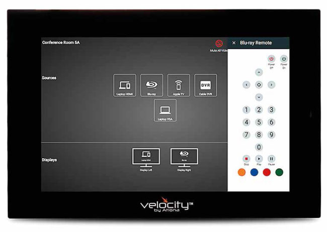 touch panel VTP-800 e VTP-550