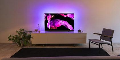 Philips TV e B&W vera coppia d'assi: l'OLED + 903 sfodera una audio senza rivali