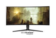 "LG alla Games Week con i nuovi monitor 34"" Serie Ultragear"