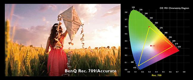 BenQ Rec.709 2