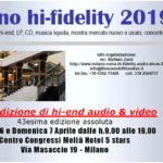 Adeo, all'Hi-Fidelity 2019 con Revel, Mark Levinson e JBL
