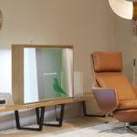 L'OLED trasparente di Panasonic al Salone del Mobile