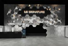 LG Signature: a IFA 2019 l'installazione porta la firma di Fuksas