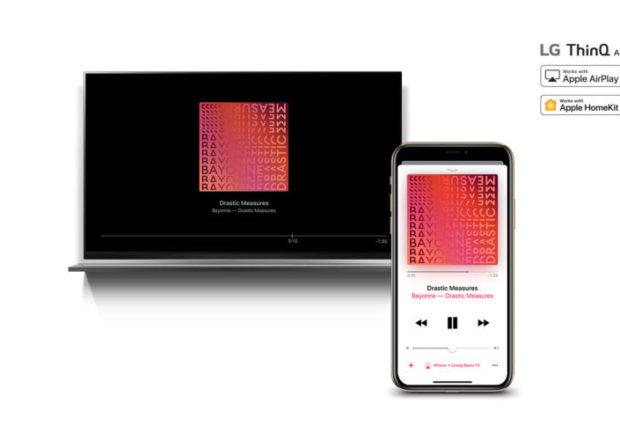 Apple AirPlay2 e HomeKit salgono a bordo dei TV LG AI ThinQ