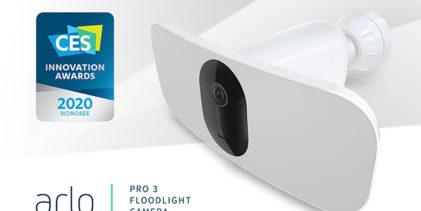 Arlo Pro 3 Floodlight: col proiettore LED il buio non è più un problema