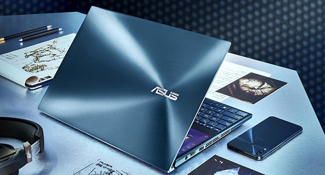 ASUS ZenBook Pro Duo UX581, lo schermo OLED si fa in due