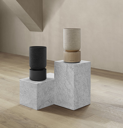 B&O Beosound Balance wood and black