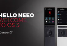 Control4 introduce Neeo, il nuovo remote controller per Smart Home OS3