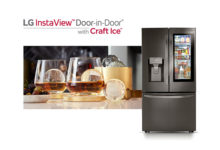 Frigoriferi InstaView LG: Craft Ice e ThinQ 2 inaugurano il 2020